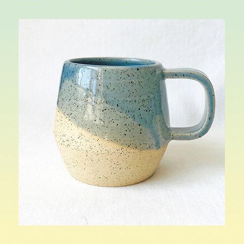 Bluegrey Speckled Mug
