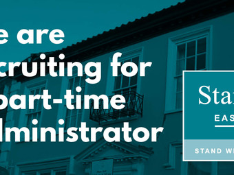 We are recruiting for an Administrator (part-time)