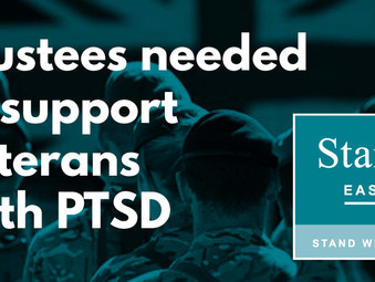 Trustees needed to support veterans suffering with PTSD