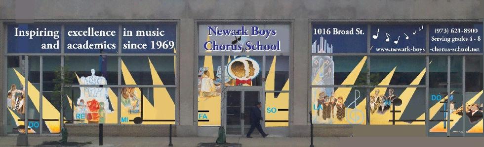 Newark Boys Chorus School front of school building