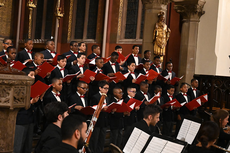 Newark Boys Chorus School  Holiday Concert 2019