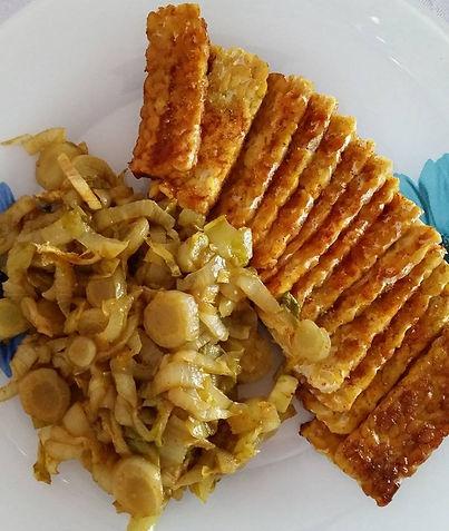 Temphé in salsa di Soia Dolce _paprica_affu