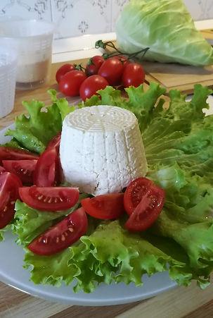 Ricottina di Latte Vegetale alla Soia