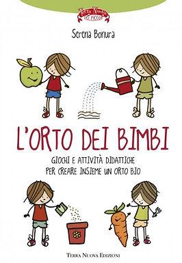Libro L'orto dei bimbi di Serena Bonura