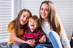 Gorgeous Family in Giffnock - Novemb