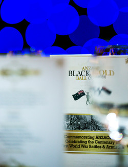 ANZAC Black & Gold Memorial Ball
