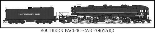 79009S  N-Southern Pacific AC-12 Loco