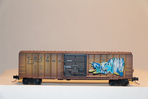 02554560 WEATHERED RAILBOX Box Car