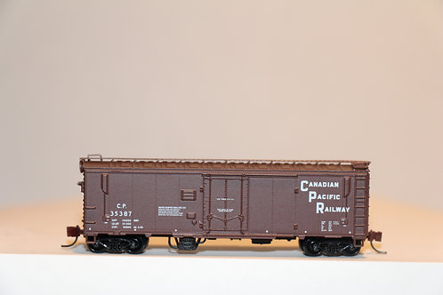 225901 CP Stacked Hearld 40' insulated/ventilated Boxcar