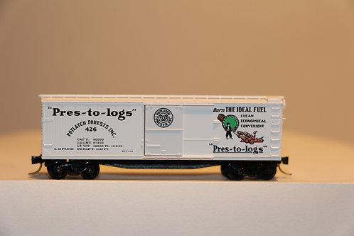 42060 POTLATCH FOREST INC. Box Car