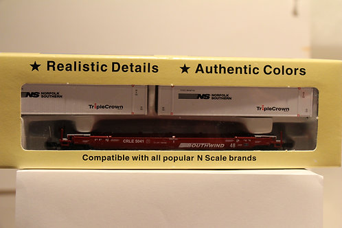 1-603109 TWIN STACK Container Car SOUTHWIND