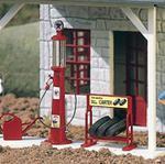 62286 Texaco Gas Pump & Accessories