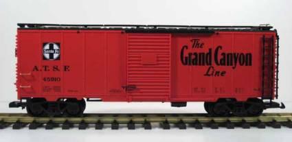 "45910 ""Santa Fe Box Car"" Queen Mary"
