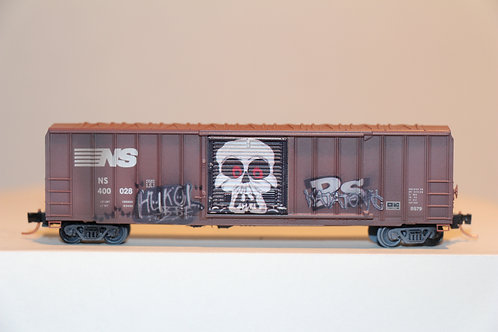 02544730 WEATHERED NORFOLK SOUTHERN Box Car