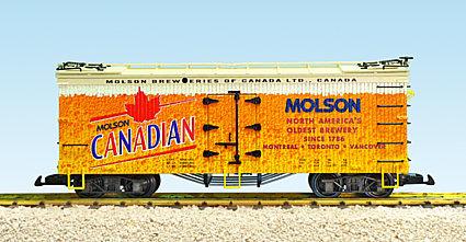 R16466 Molson Canadian Refrigeration Car