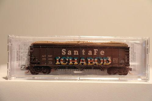 10851120 N- ATSF Weathered Santa Fe