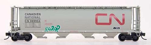 #369954 N-CN splt personality car with grafitti