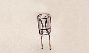 E130023 LGB clear plug in bulb QtY 10