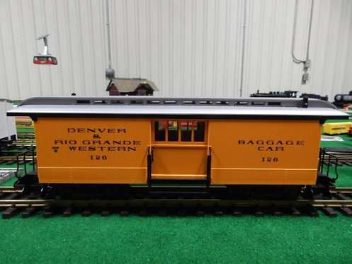 3084 Denver and Rio Grande Western Baggage Car