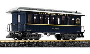 38800 B&O Passenger Car, Columbia w/Metal Wheels