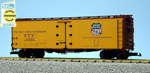 R16521 Union Pacific Overland - Yellow/Brown
