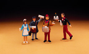 51450 Station Worker Figures, Collection Item