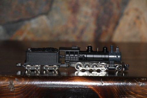8000 rounhouse production 2-8-0 Loco painted black unlettered