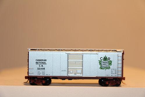 521498 CN RAILWAY Box Car