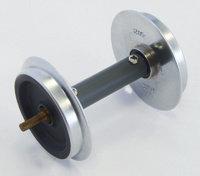 36167 Ball Bearing Metal Wheelsets w/pickups, 30mm