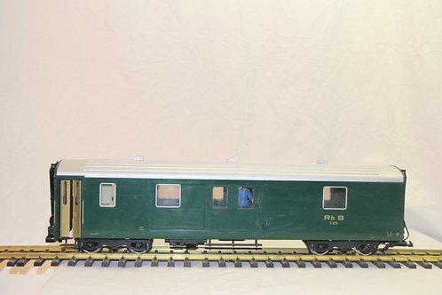31690 LGB RhB Baggage Car, Green, 312904,