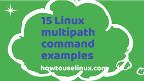 15 Linux multipath command examples