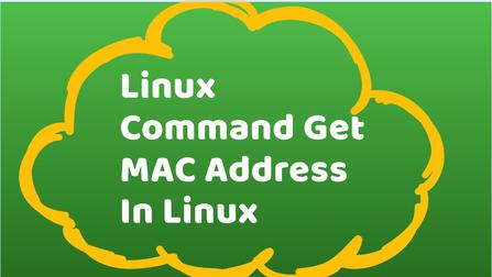 3 Ways to Find MAC Address In Linux