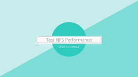 How to test NFS performance with dd on Linux?