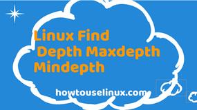 Understanding Depth In Linux Find Command