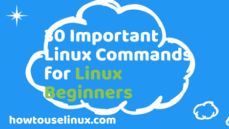 Linux Commands With Examples for Linux Beginners