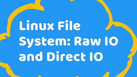Linux File System: Raw IO and Direct IO