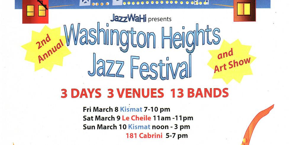 Stéphane Spira Quartet at WASHINGTON HEIGHTS JAZZ FESTIVAL