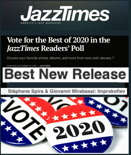 If you want to support my music, You can vote  Improkofiev for BEST NEW RELEASE -  THANKS!