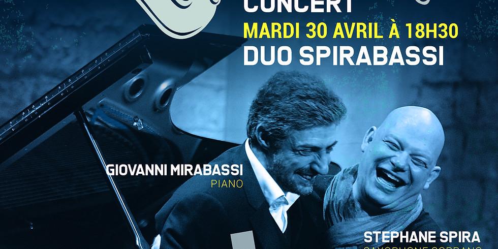 """Stéphane Spira & Giovanni Mirabassi  """" SPIRABASSI"""""""