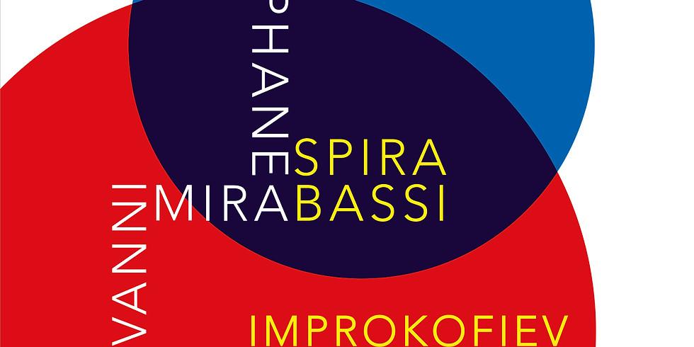 """SPIRABASSI QUARTET  """"IMPROKOFIEV"""""""