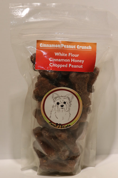 Cinnamon Peanut Crunch Coffee Shop Cookies