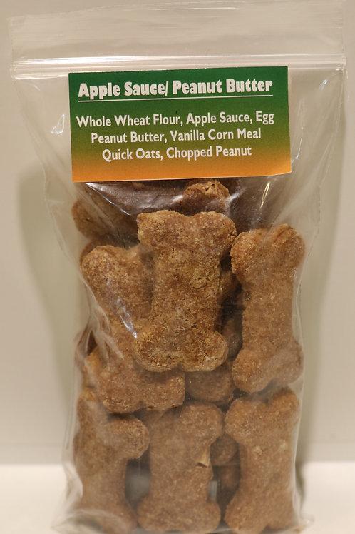 Applesauce & Peanut Butter Coffee Shop Cookies