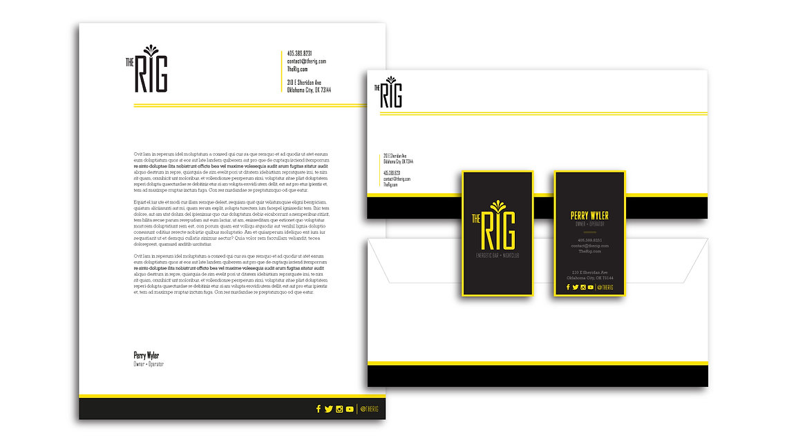 Bar & Nightclub Stationery