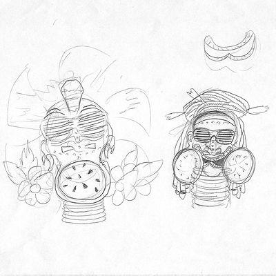 Mike's Harder Lemonde can design sketch