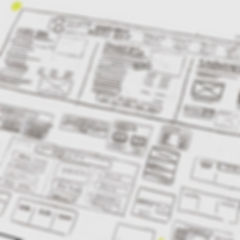 Menu Design Wireframes