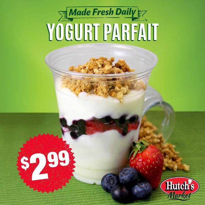 Yogurt Parfait Food Photography