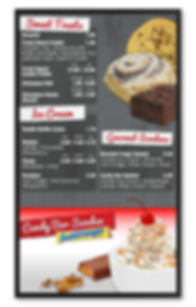 Restaurant Menu Board Design