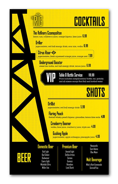 nightclub-cocktails-menu