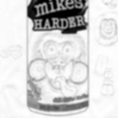 Mike's Harder Lemonade can design sketch