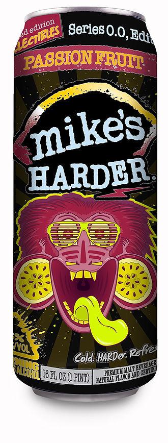 Mike's Harder Lemonade beverage can design